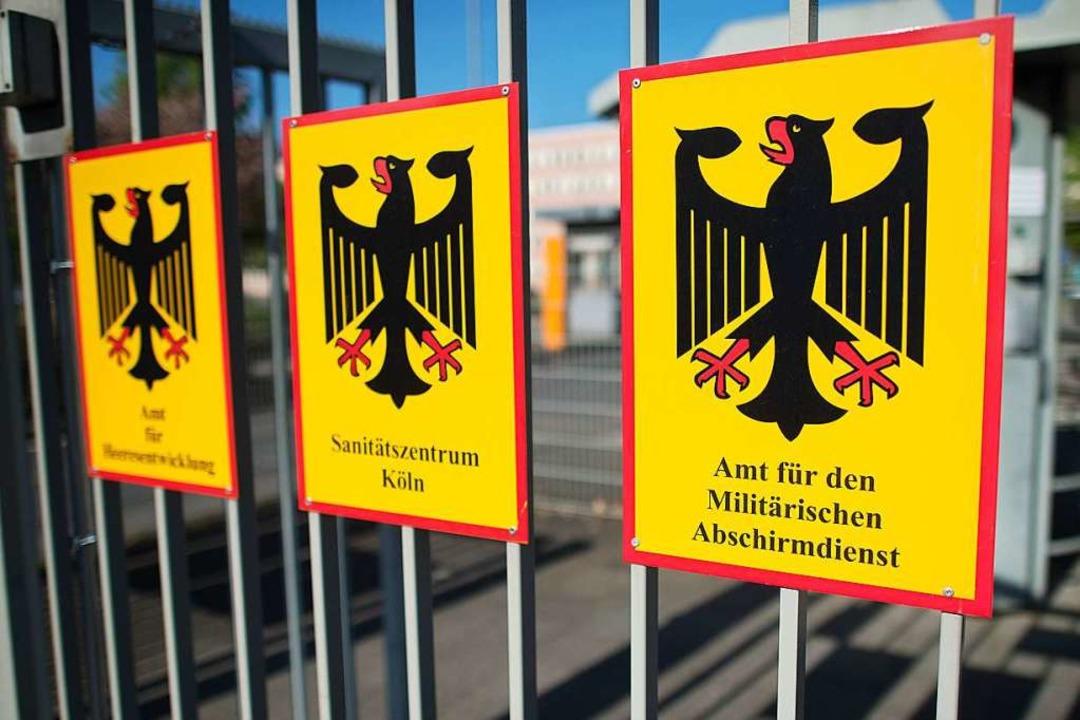 Auch der Militärische Abschirmdienst soll Verfassungsfeinde aufspüren.    Foto: Federico Gambarini (dpa)
