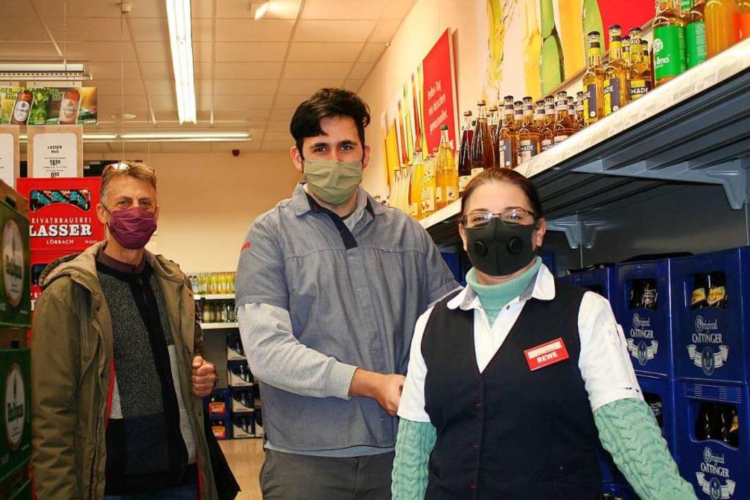 Nadja Bilmec, Marktverantwortliche im ...n Mann auf seinem Berufsweg begleitet.  | Foto: Marlies Jung-Knoblich
