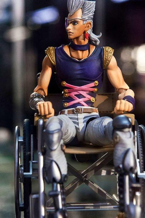 "Superheld im Rollstuhl:  Jean Pierre P... ""Jojos bizarre Abenteuer""    Foto: Javier Sauras"