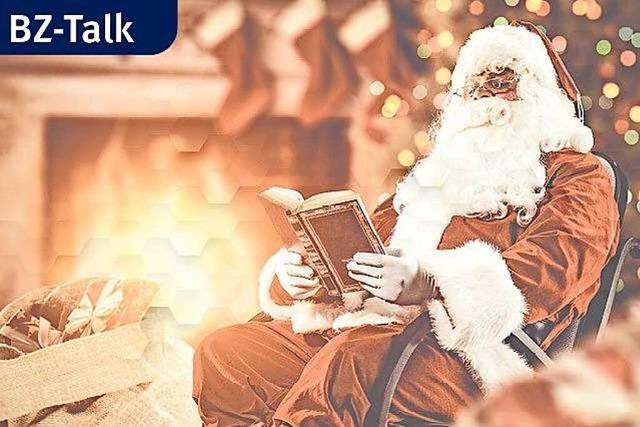 BZ-Talk mit dem Weihnachtsmann: