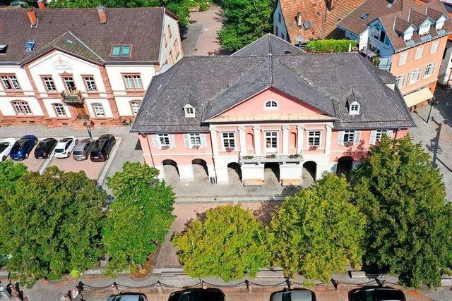 Das Rathaus in Schopfheim bleibt zwischen den Jahren geschlossen