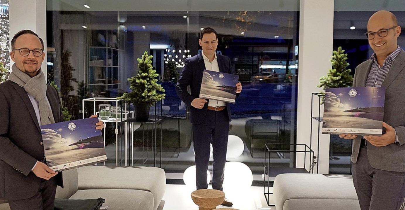 Erfolgreich: Dirk Stoltenberg (von lin...kalender, der 3000 Mal verkauft wurde.  | Foto: Ursula Freudig