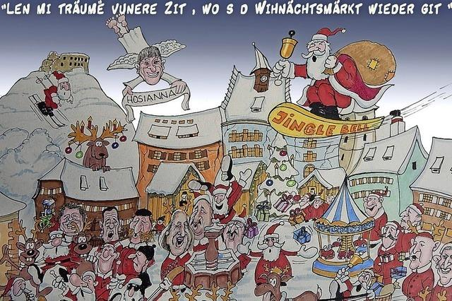Träumereien vom Weihnachtsmarkt