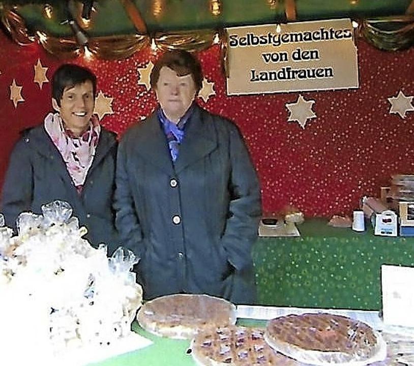 Die Landfrauen Irmgard Klingele und Er...t: Das ist dieses Jahr nicht möglich.   | Foto: privat