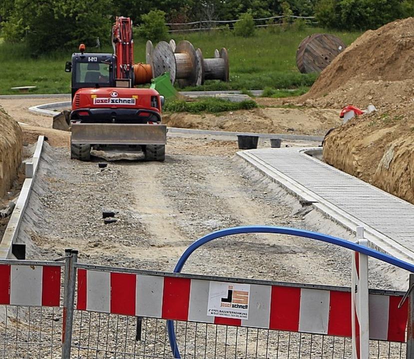 Weil Schallbach um das Neubaugebiet Hü..., muss der Wasserdruck erhöht werden.   | Foto: Rolf Rhein