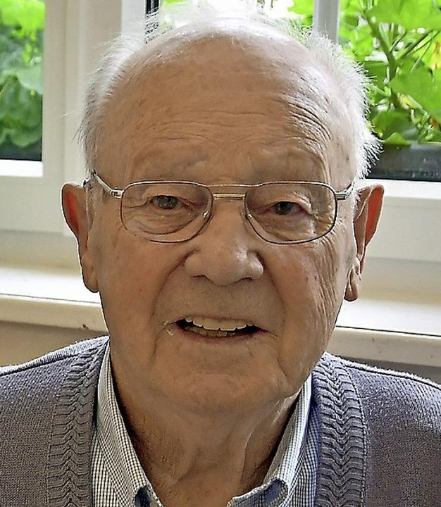 Franz Mutter im August 2019    Foto: Manfred Herbertz