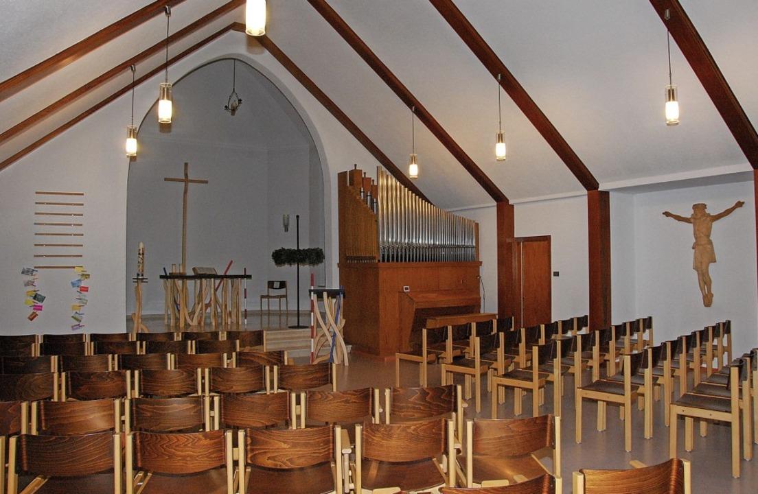 Der Gebetsraum der  Elzacher Johanneskirche heute.     Foto: Dorothea Scherle