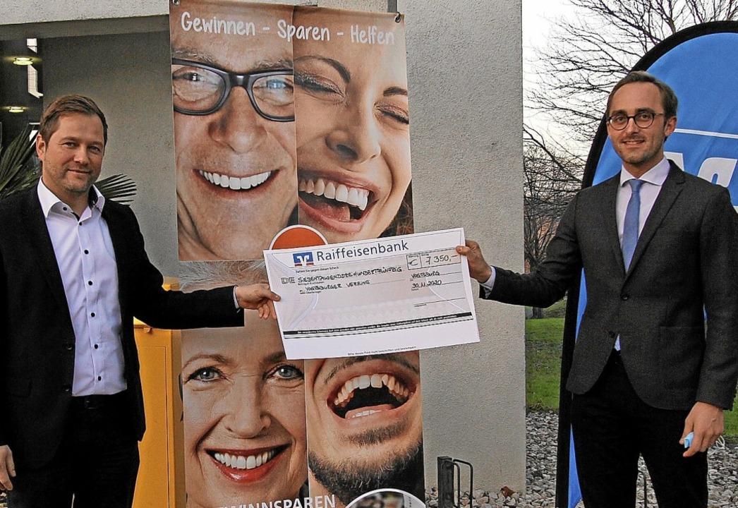 Ulrich Wild, Vorsitzender der Raiffeis...im Geschäftsbereich des Bankinstituts.    Foto: Herbert Trogus