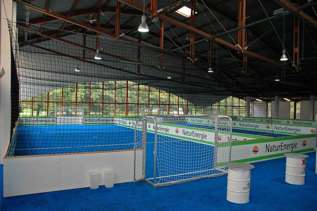 Aus der Soccerhalle wird ein Impfzentrum.    Foto: Regine Ounas-Kräusel