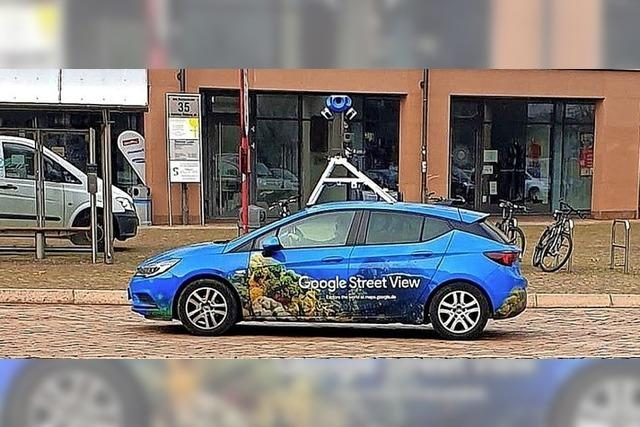 Teile Freiburgs in Googles Streetview