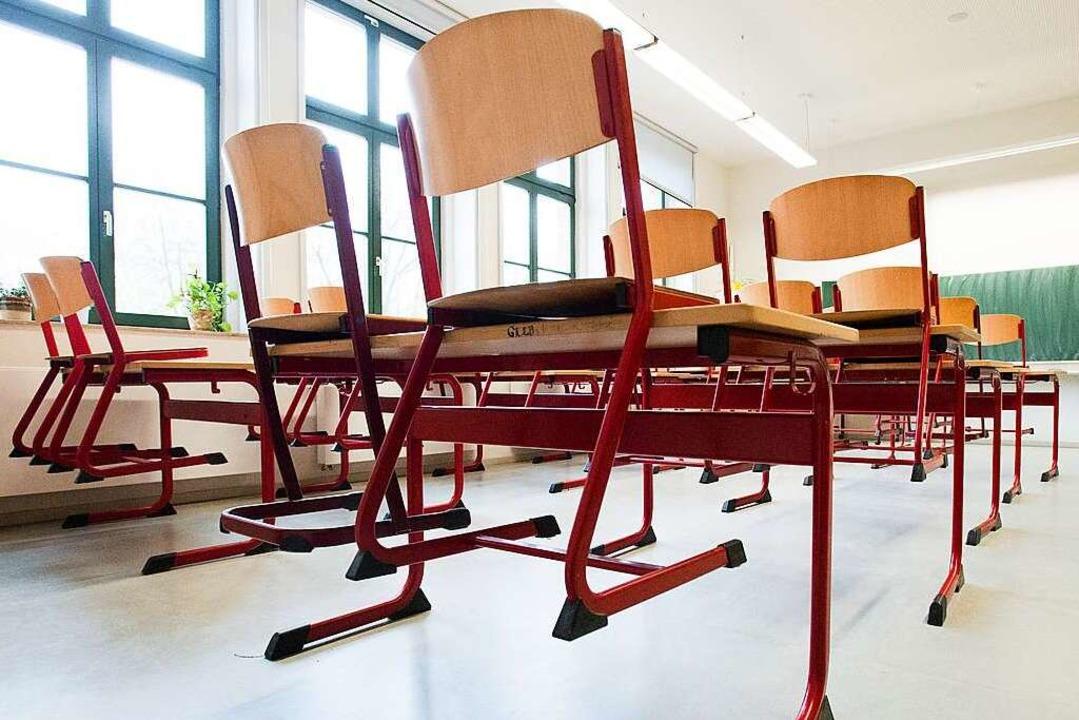 Aufgestuhlt wird an Schulen im Land er...hnachtsferien werden nicht vorgezogen.  | Foto: Peter Endig