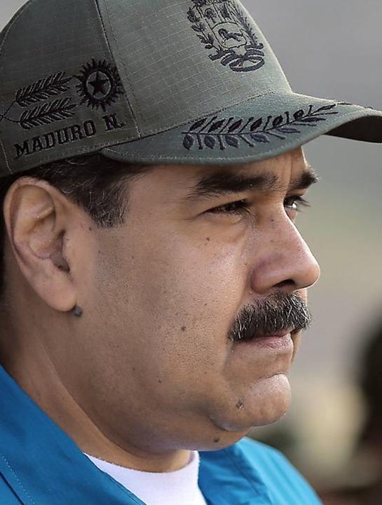 Nicolas Maduro  | Foto: MARCELO GARCIA