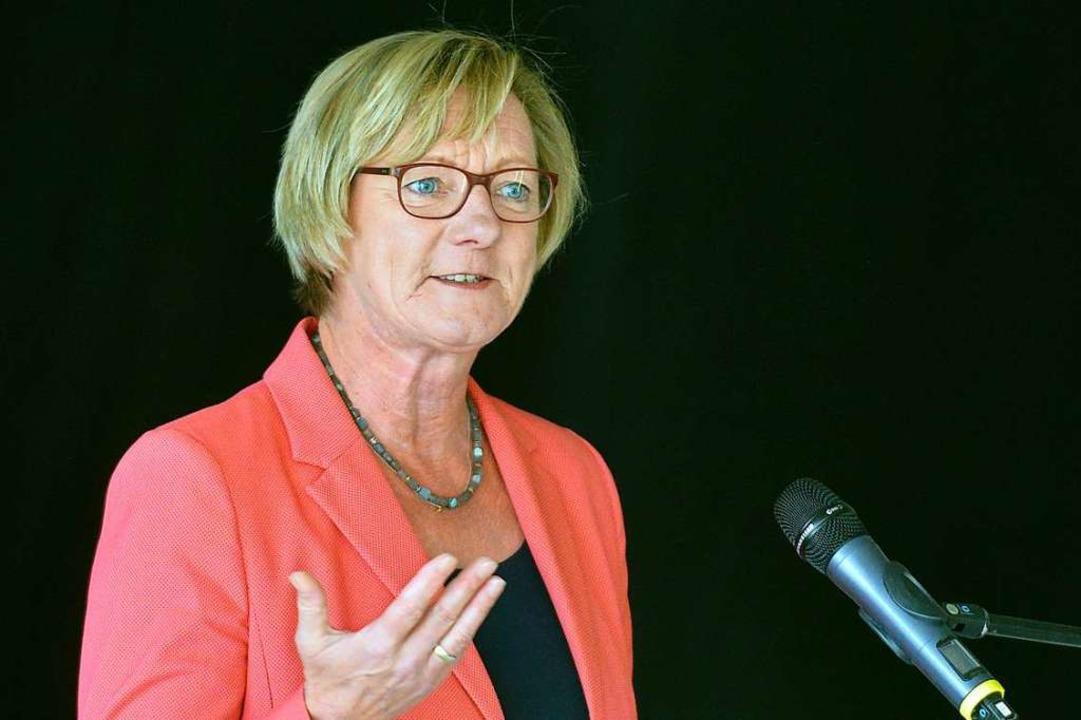 Finanzministerin Edith Sitzmann (Grüne)    | Foto: Michael Bamberger