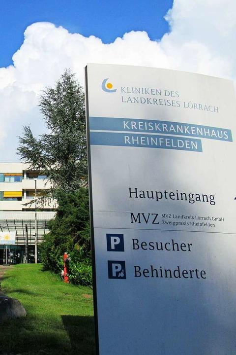 Die Kreiskliniken verlagern leichtere Operationen an den Standort Rheinfelden.  | Foto: Elena Borchers