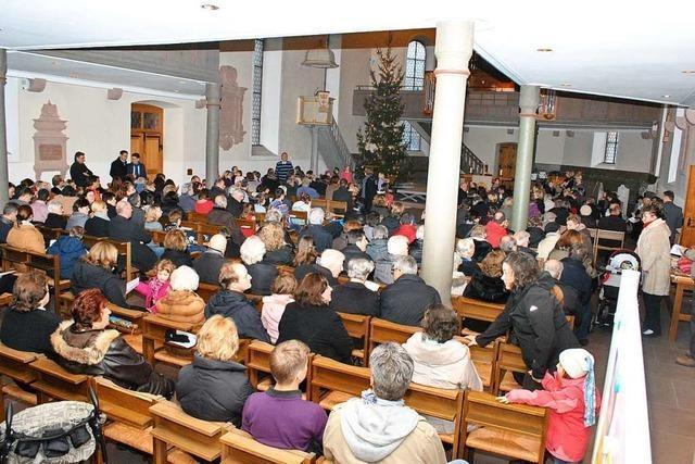 Wie die Weiler Kirchengemeinden für Weihnachten planen