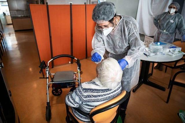 Wie Alten- und Pflegeheime die Corona-Schnelltests einsetzen