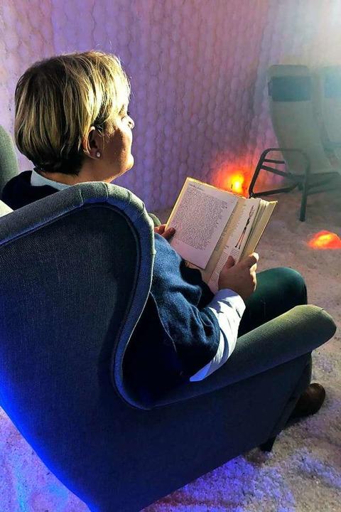 Susanne Weh hat dabei Märchen der Gebr...n Adventssonntag im Internet zu sehen.    Foto: Veranstalter