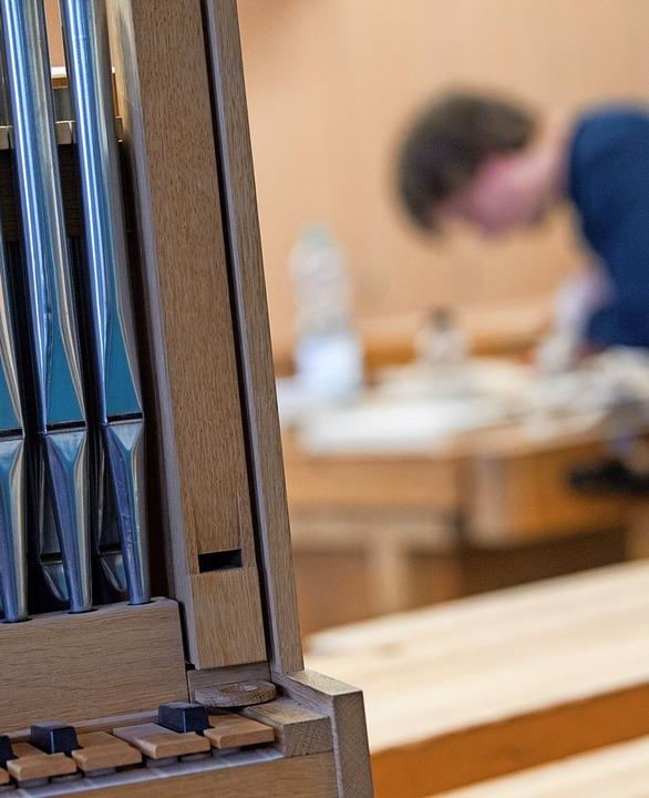 Braucht es in Zukunft noch Orgelbauer?...r international als Fachkraft gefragt.  | Foto: Sebastian Gollnow