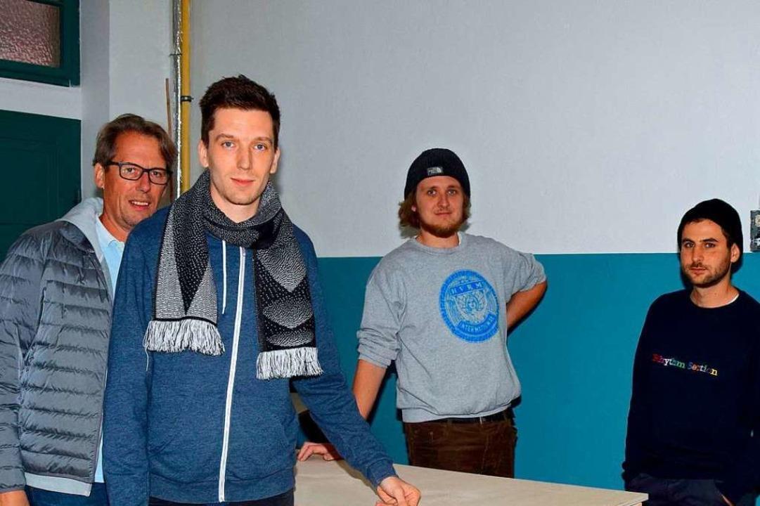 Johannes Schleyer, Maximilian Schleyer...fnen den Plattenladen Tulla Tonträger.    Foto: Johannes Schleyer