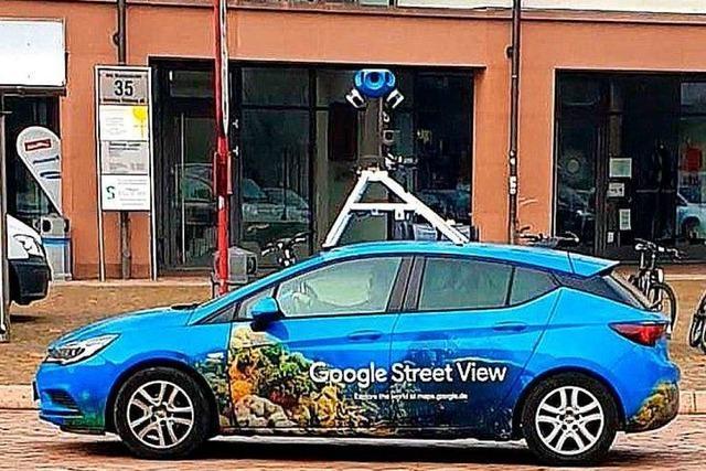 Freiburger Straßen sind jetzt bei Google Streetview zu sehen