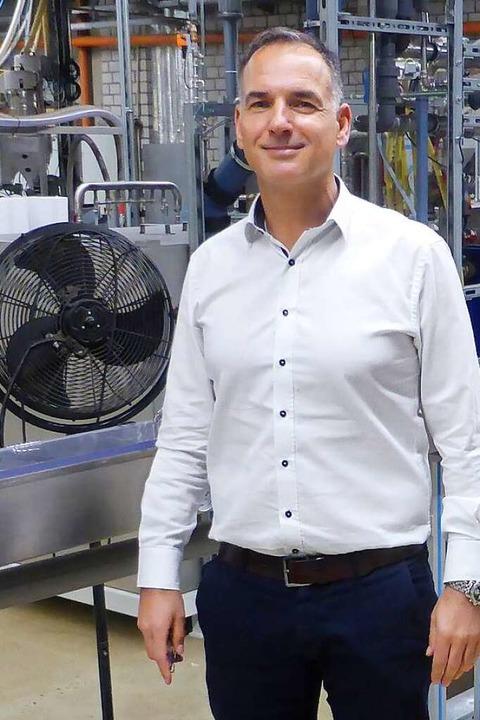 Geschäftsführer Hansjörg Keusgen  | Foto: Holger Schindler