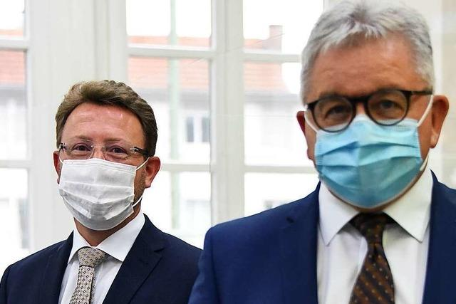 Justizminister Wolf lobt die Arbeit der Staatsanwaltschaft Lörrach