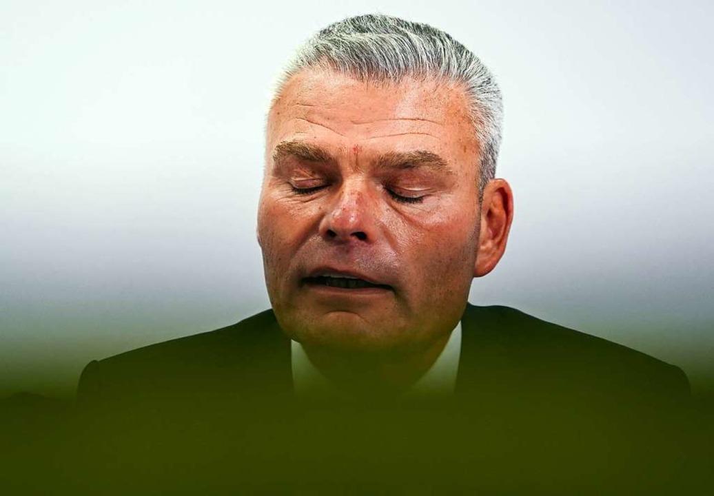 Holger Stahlknecht ist nicht mehr Landesinnenminister von Sachsen-Anhalt.  | Foto: Hendrik Schmidt (dpa)