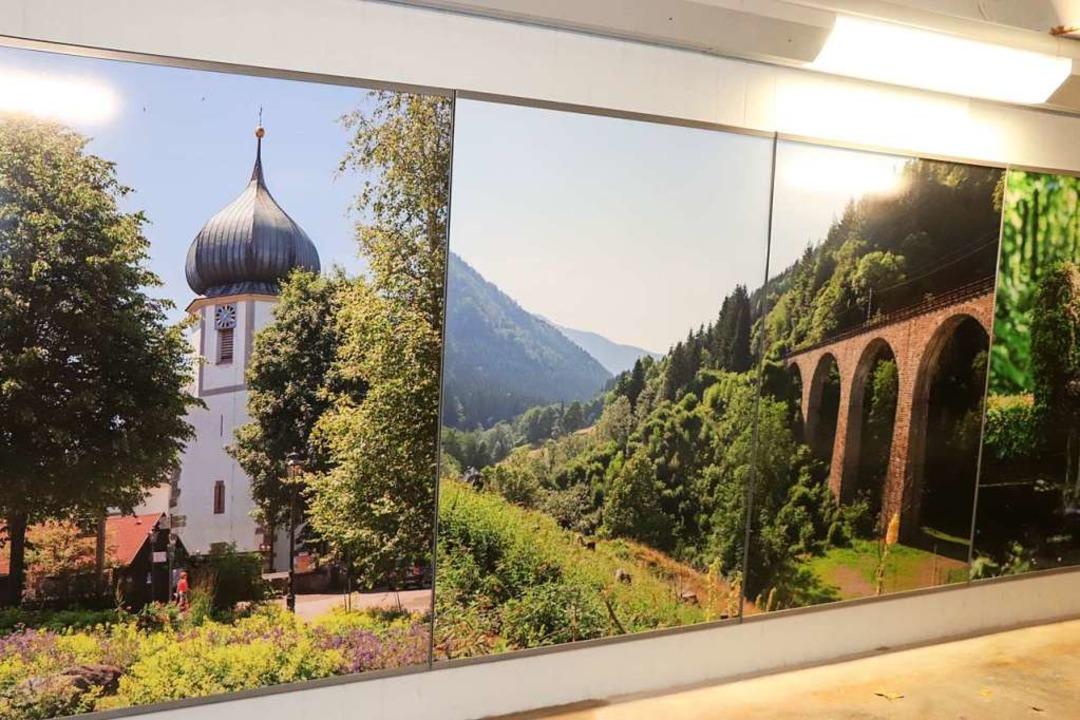 Blick in die Unterführung mit den neue... Bilder aus Hinterzarten und Umgebung.  | Foto: Dieter Maurer