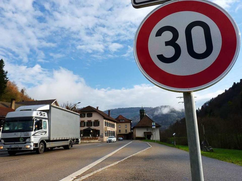 In den Lärmaktionsplan für Tempo 30 in...lgsaussichten kein Geld mehr gesteckt.  | Foto: Sattelberger