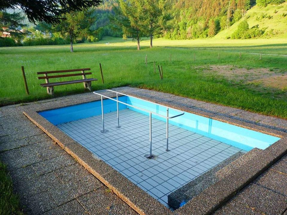Die Wassertretstelle in der Schönenber...r jene in der  Mühlmatt, darf bleiben.  | Foto: Sattelberger
