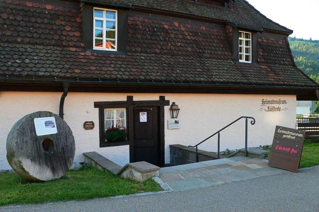 Das Heimatmuseum Klösterle wird vorerst nicht ans Nahwärmenetz angeschlossen.  | Foto: Förderverein