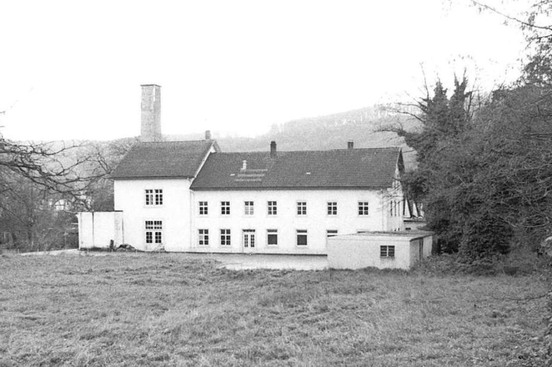 Ehemalige Vitafabrik an der Gießenstraße  | Foto: Stadtarchiv Bad Säckingen