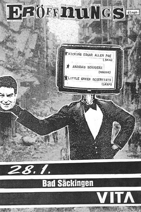 Flyer vom Eröffnungskonzert 1995  | Foto: Kultur frontal