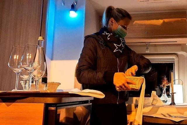 Gastronom in Breisach bietet Festmenüs im Wohnmobil an