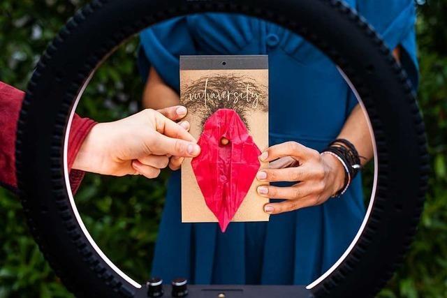 Der Vulva-Abreißkalender aus Freiburg ist schon ausverkauft