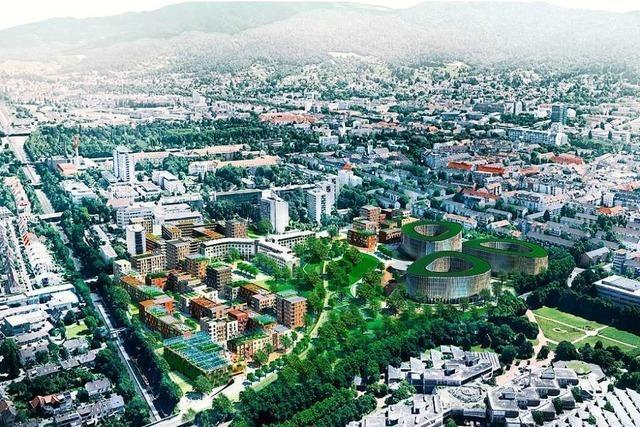 Freiburger Stadtspitze stellt Konzept fürs Baugebiet Kleineschholz vor