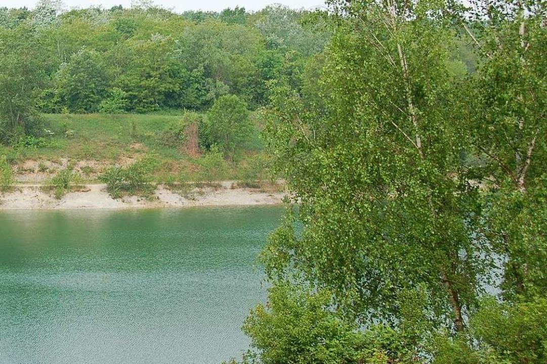 Der Zienkener Baggersee.  | Foto: Luisa Vetter