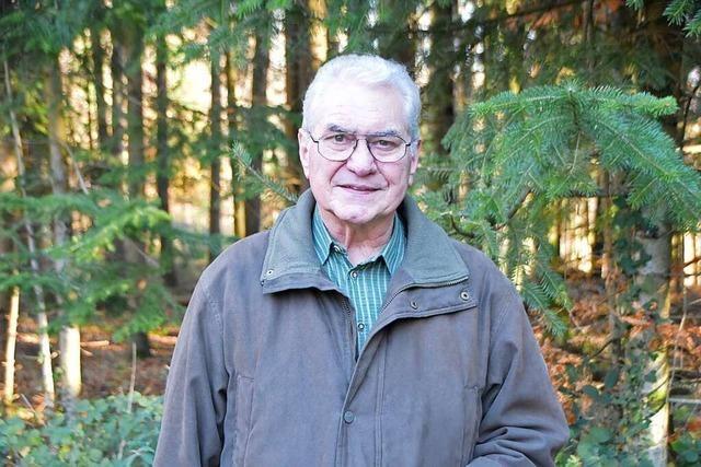 Der Jäger Roland Heller spricht über das Warten auf Wildschweine
