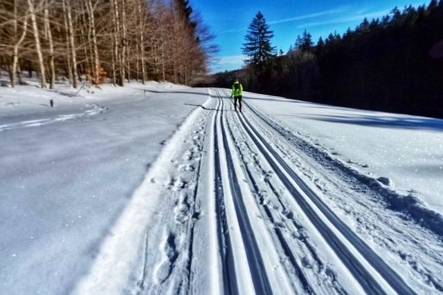 Langlaufen ist im Corona-Winter möglich – die ersten Loipen sind gespurt