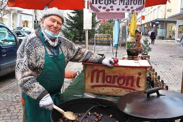 Esskastanien sorgen für warme Gefühle – Besuch beim Müllheimer Maroni-Mann