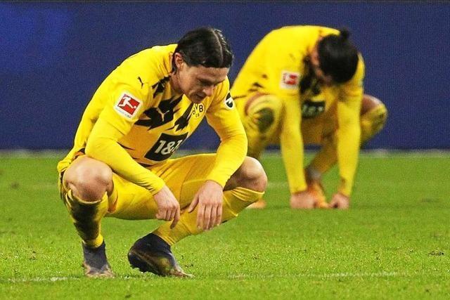 Dortmund wieder ohne Sieg - 1:1 gegen Frankfurt