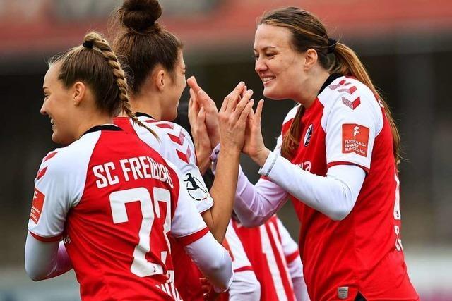 SC-Frauen holen Kantersieg und ziehen ins Viertelfinale ein