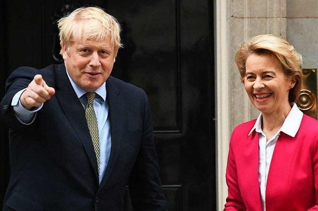 Johnson und von der Leyen beraten über Post-Brexit-Gespräche