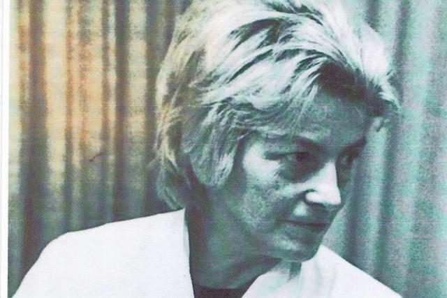 Lore Wallenborn war Rheinfeldens erste Nikoläusin