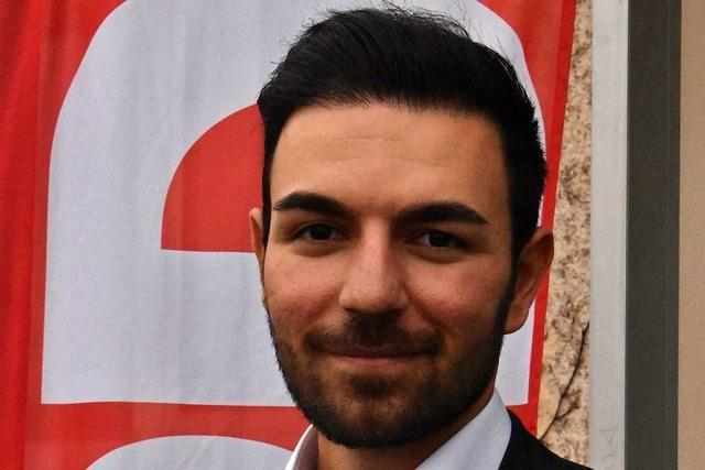 Takis Mehmet Ali kandidiert für die SPD im Wahlkreis Lörrach-Müllheim
