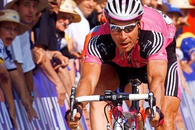 Tour de Suisse in Südbaden: Erst kam der Staubsauger, dann Erik Zabel