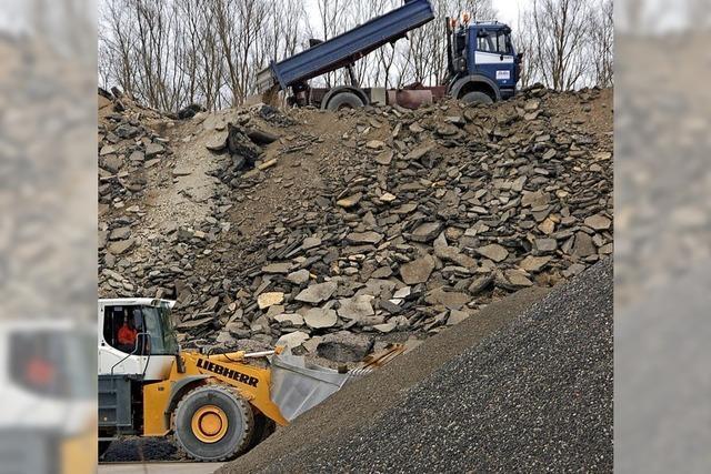 Gemeinderat spricht sich mehrheitlich für Bauschuttlager aus