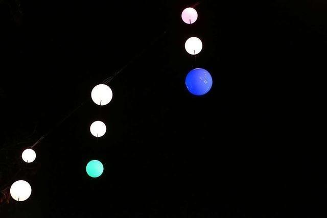 Technik der neuen Weihnachtsbeleuchtung in Lörrach hat versagt