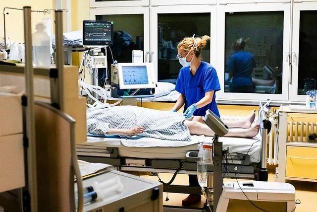Immer mehr Covid-Patienten auf den Intensivstationen