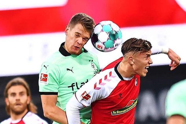 Siegloser Aufwärtstrend: SC Freiburg spielt 2:2 gegen Gladbach